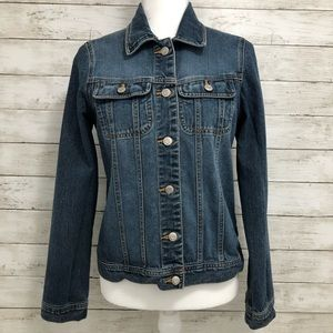 Old Navy | Blue Jean Button Down Jacket | Size Sm